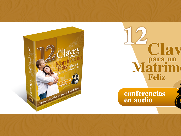Curso: 12 CLAVES PARA UN MATRIMONIO FELIZ